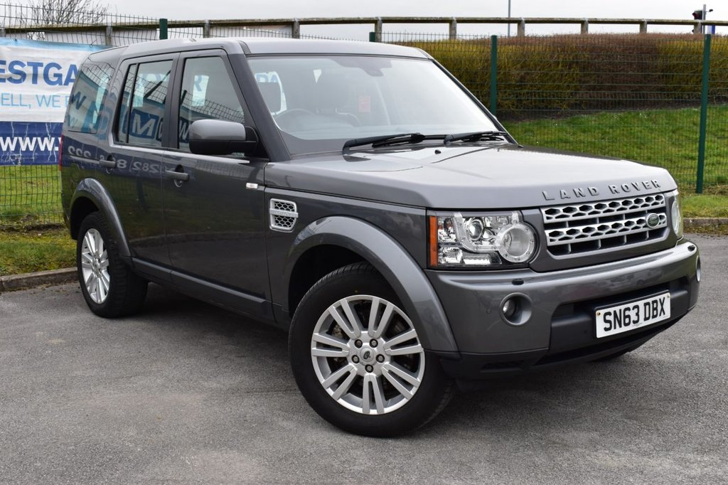 USED 2013 63 LAND ROVER DISCOVERY 3.0 4 SDV6 GS 5d 255 BHP