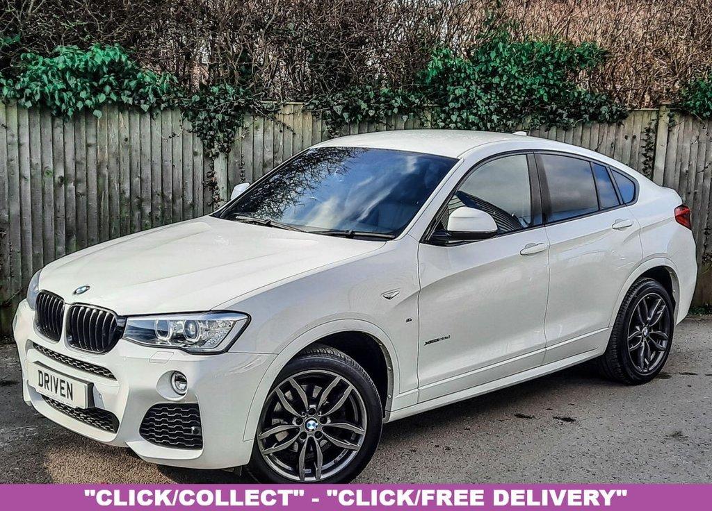 USED 2016 65 BMW X4 2.0 XDRIVE20D M SPORT 4d 188 BHP