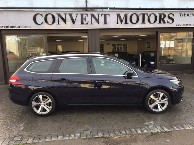 USED 2018 18 PEUGEOT 308 1.5 BLUE HDI S/S SW ACTIVE 5d 129 BHP