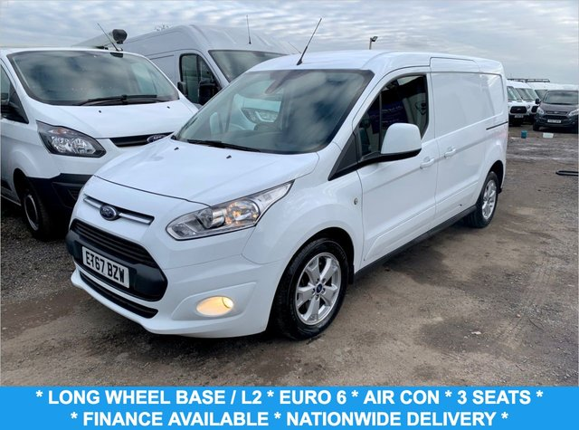 USED 2018 67 FORD TRANSIT CONNECT 1.5 240 LIMITED P/V 118 BHP
