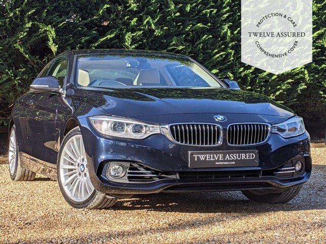 USED 2014 14 BMW 4 SERIES 3.0 435I LUXURY 2d AUTO 302 BHP