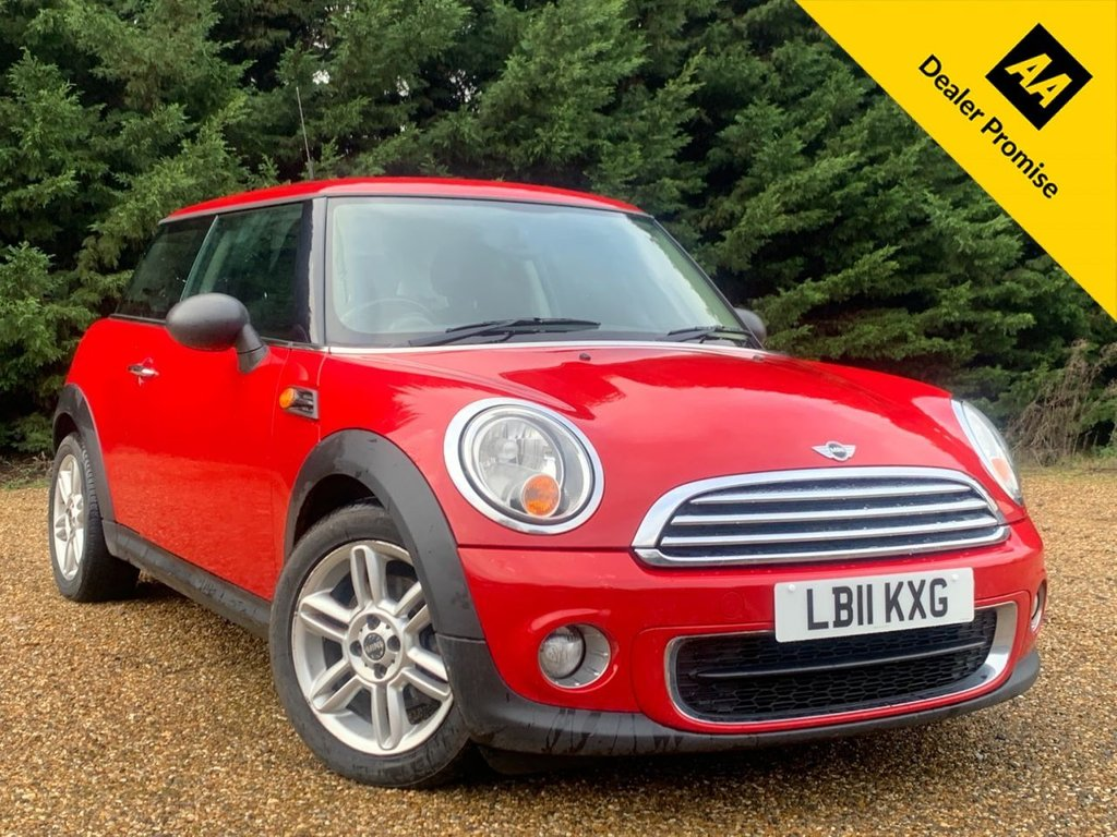 USED 2011 11 MINI HATCH ONE 1.6 ONE D 3d 90 BHP