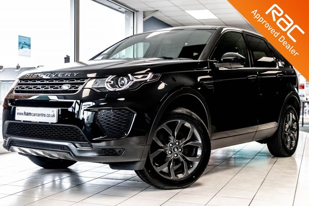 USED 2019 68 LAND ROVER DISCOVERY SPORT 2.0 TD4 LANDMARK 5d 178 BHP BLACK STYLING PACK  ONLY 20,493 LR WARRANTY