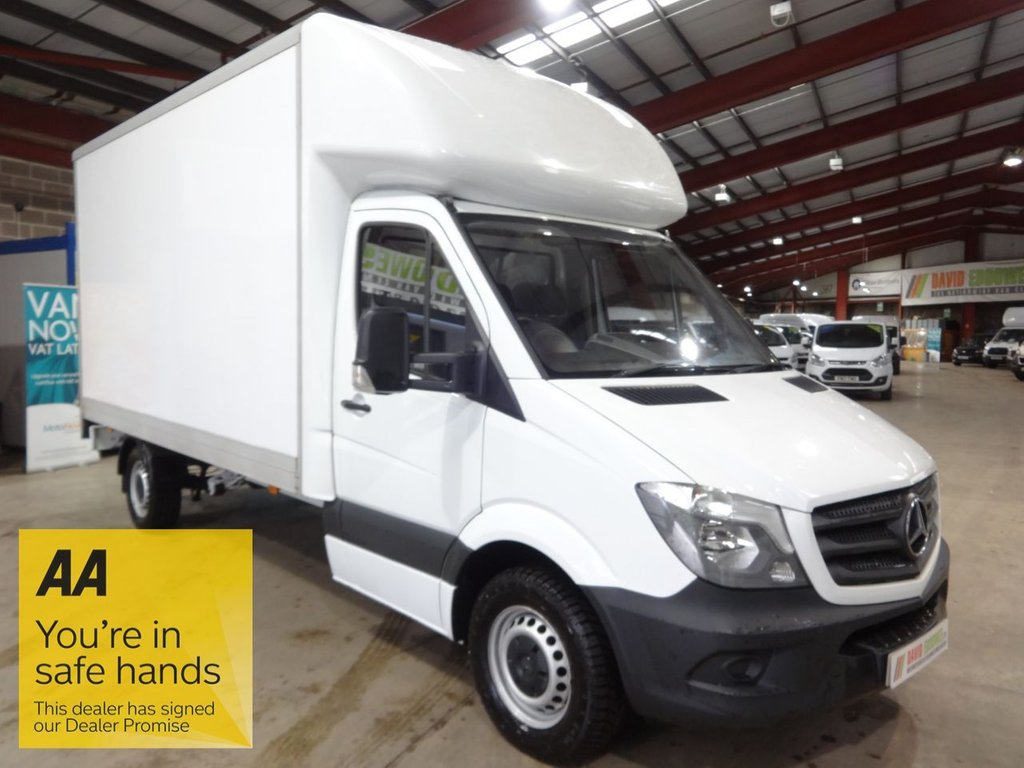 USED 2017 67 MERCEDES-BENZ SPRINTER 2.1 314CDI 140 BHP LWB LUTON VAN WITH TAIL LIFT - AA DEALER PROMISE - TRADING STANDARDS APPROVED -