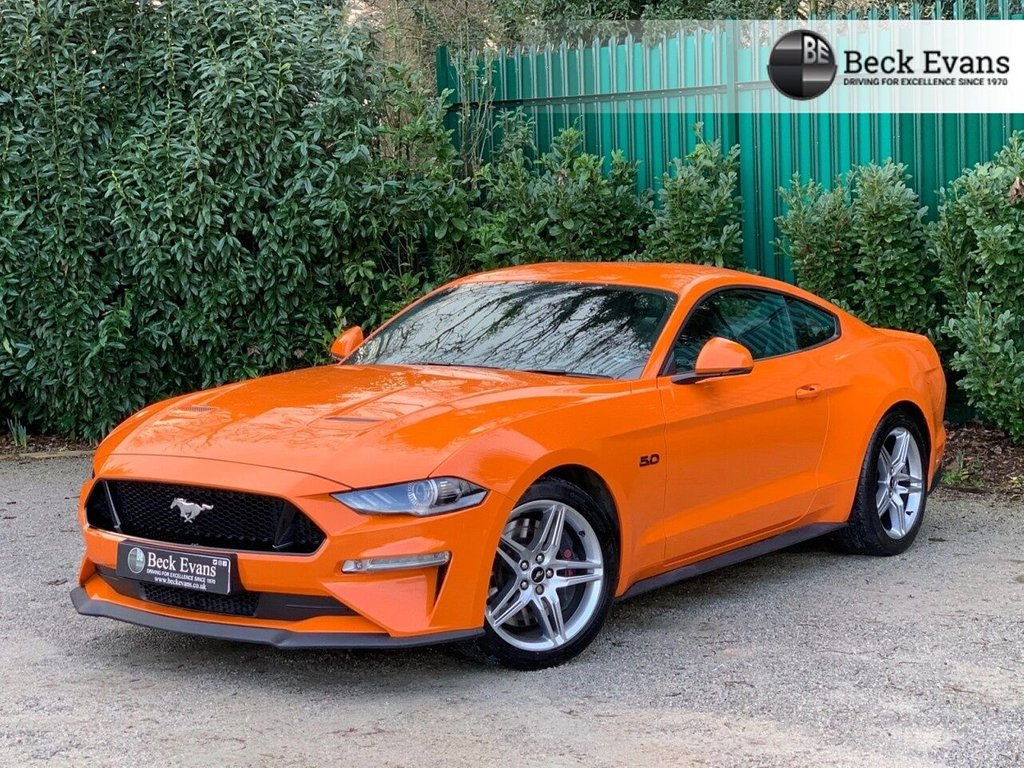USED 2019 69 FORD MUSTANG 5.0 GT Custom Pack 4 Auto 2d 444 BHP
