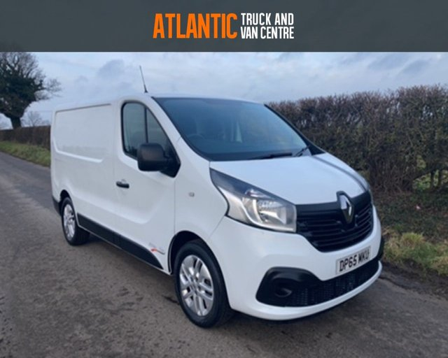 2015 65 RENAULT TRAFIC SL27 BUSINESS PLUS ENERGY DCI S/R P/V