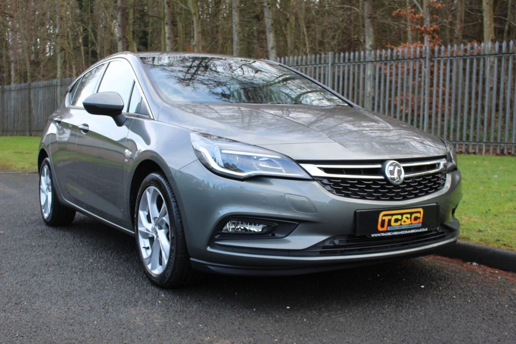 USED 2017 17 VAUXHALL ASTRA 1.4 SRI S/S 5d 148 BHP A CLEAN ONE OWNER ASTRA WITH A COMPRHENSIVE SERVICE HISTORY!!!