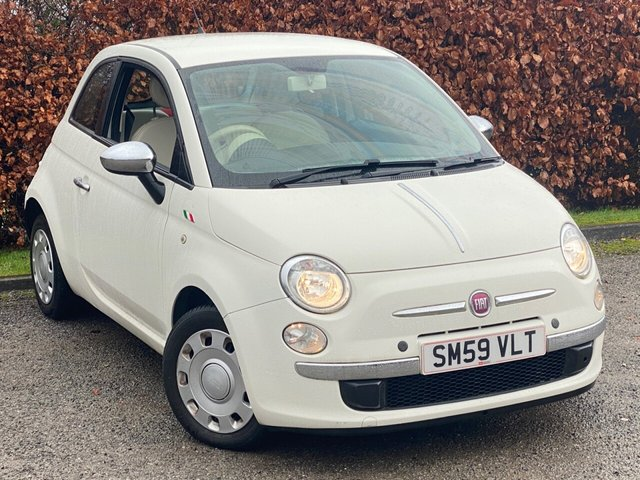 USED 2010 59 FIAT 500 1.2 POP 3d 69 BHP * 12 MONTHS FREE AA MEMBERSHIP * IDEAL FIRST CAR *