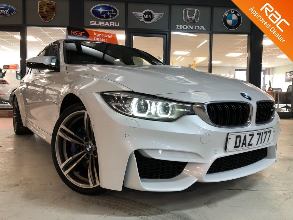 USED 2018 BMW M3 3.0 M3 4d 426 BHP Complementary 12 Months RAC Warranty and 12 Months RAC Breakdown Cover Also Receive a Full MOT With All Advisory Work Completed, Fresh Engine Service and RAC Multipoint Check Before Collection/Delivery