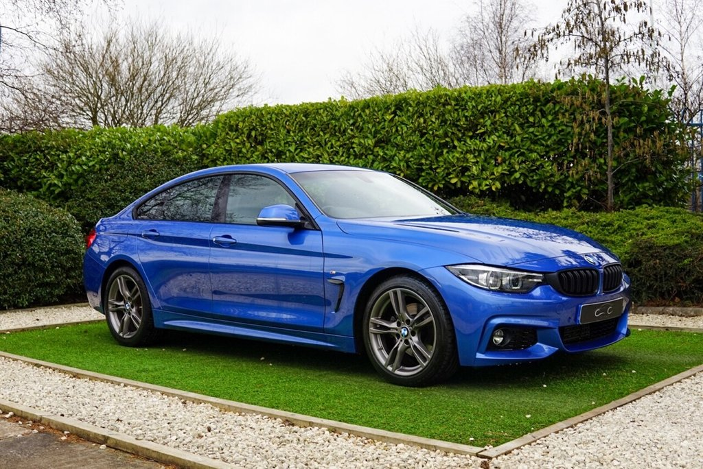 USED 2019 19 BMW 4 SERIES GRAN COUPE 2.0 420D M SPORT GRAN COUPE 4d 188 BHP