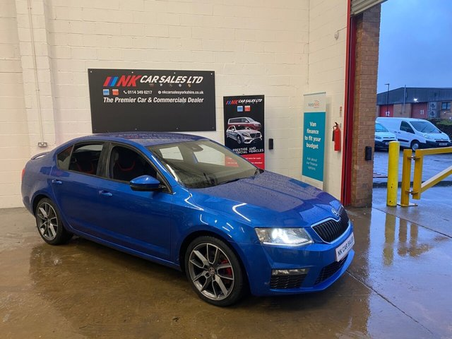 USED 2016 66 SKODA OCTAVIA 2.0 VRS TDI 5d 181 BHP FSH 7 STAMPS 1 CO OWNER FROM NEW  SAT NAV TIMING BELT AND WATER PUMP DONE BY SKODA  CANTON SOUND SYSTEM