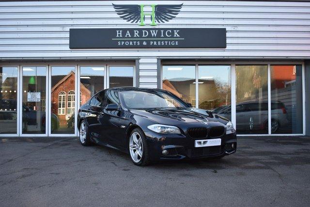 2011 11 BMW 5 SERIES 4.4 550I M SPORT 4d 403 BHP