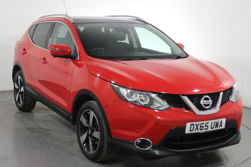 USED 2015 65 NISSAN QASHQAI 1.5 DCI N-TEC PLUS 5d 108 BHP 2 OWNERS with 7 Stamp FULL SERVICE HISTORY inc CAMBELT CHANGE