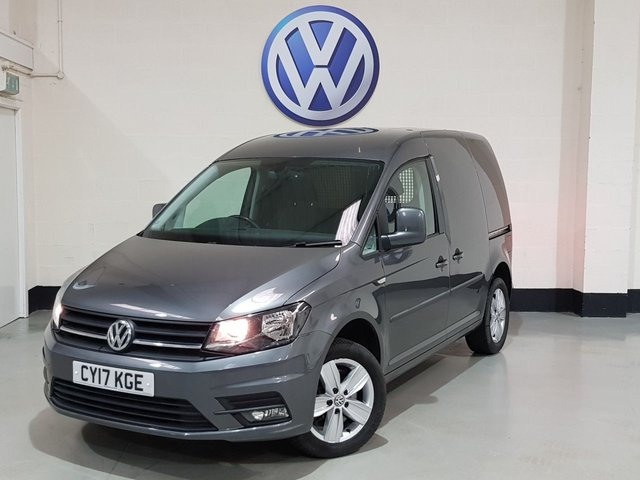 "USED 2017 17 VOLKSWAGEN CADDY 2.0 C20 TDI HIGHLINE 148 BHP 1 Owner/16""Alloys/Rear Parking Sensors/Cruise/Bluetooth"