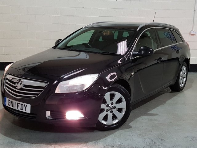USED 2011 11 VAUXHALL INSIGNIA 2.0 SRI CDTI 5d 158 BHP AUTO 2 Previous Owners / Service History / Cruise Control