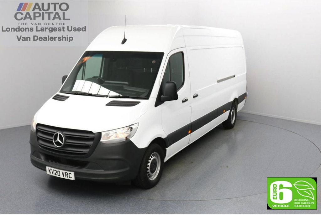 USED 2020 20 MERCEDES-BENZ SPRINTER 2.1 314 CDI RWD 141 BHP L3 H2 LWB Euro 6 Low Emission Keyless Go | Auto Start-Stop system | RWD