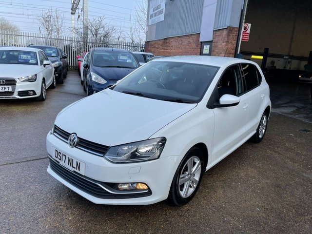 USED 2017 17 VOLKSWAGEN POLO 1.2 MATCH EDITION TSI 5d 89 BHP