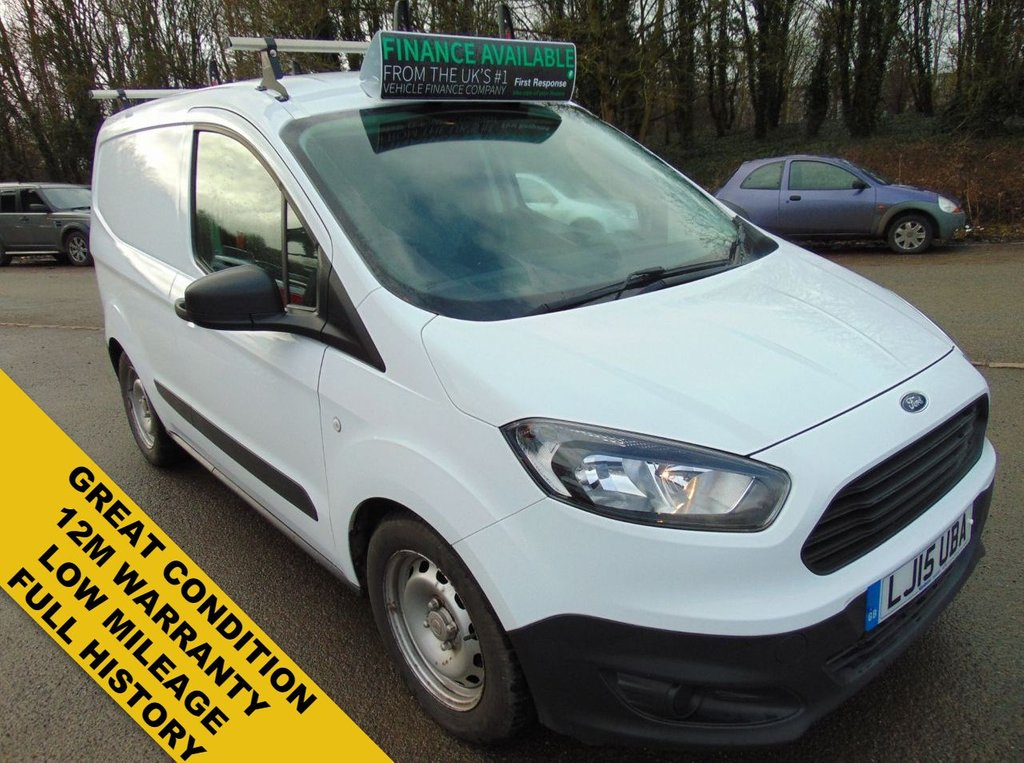 USED 2015 15 FORD TRANSIT COURIER 1.5 BASE TDCI 0d 74 BHP GREAT CONDITION THROUGH OUT