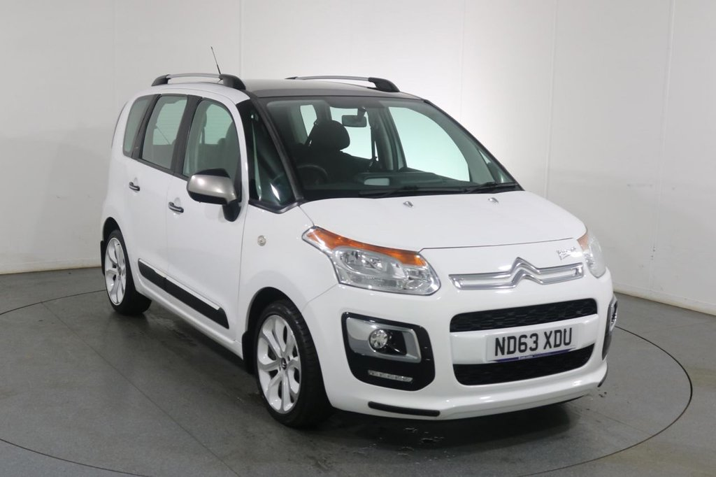USED 2013 63 CITROEN C3 PICASSO 1.6 SELECTION HDI 5d 91 BHP £20 TAX I FULL SERVICE HISTORY