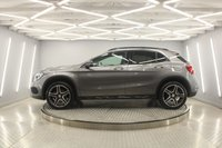 USED 2015 65 MERCEDES-BENZ GLA-CLASS 2.1 GLA220 CDI 4MATIC AMG LINE PREMIUM PLUS 5d 168 BHP SAT/NAV, DAB, BLUETOOTH, HEATED LEATHER MEMORY SEATS, REVERSE CAMERA, POWER BOOT, GLASS ROOF,  FRESHLY DIAMOND CUT ALLOYS,  LOW MILES