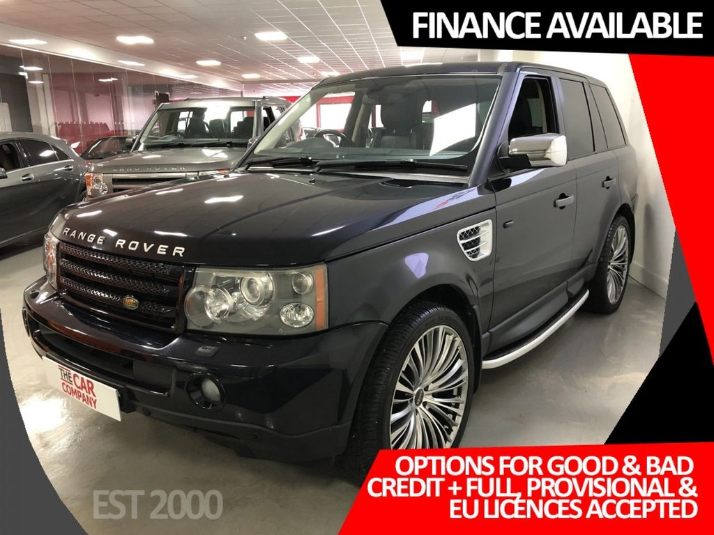 USED 2006 S LAND ROVER RANGE ROVER SPORT 3.6 TDV8 SPORT HSE 5d 269 BHP * SUNROOF * HARMAN/KARDON * PRIVACY GLASS *