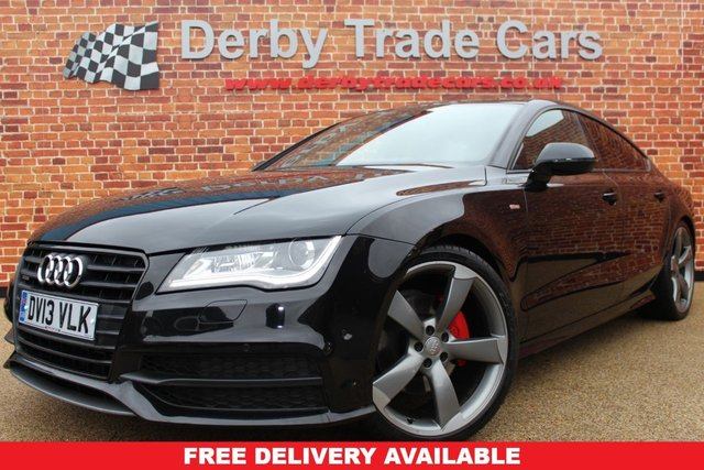 AUDI A7 at Derby Trade Cars