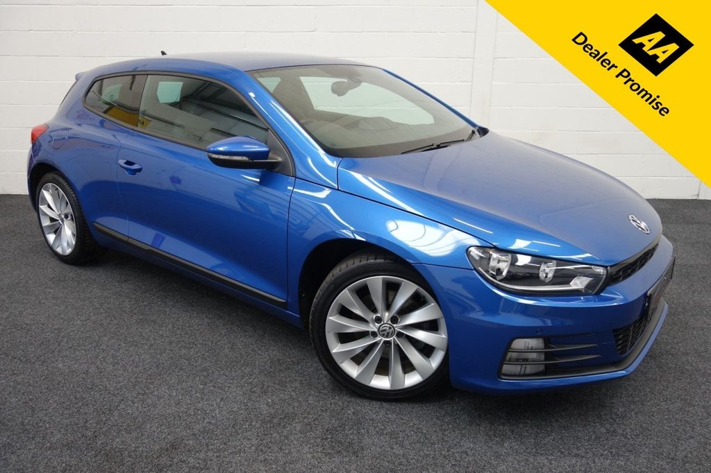 USED 2016 16 VOLKSWAGEN SCIROCCO 2.0 GT TSI BLUEMOTION TECHNOLOGY 2d 178 BHP