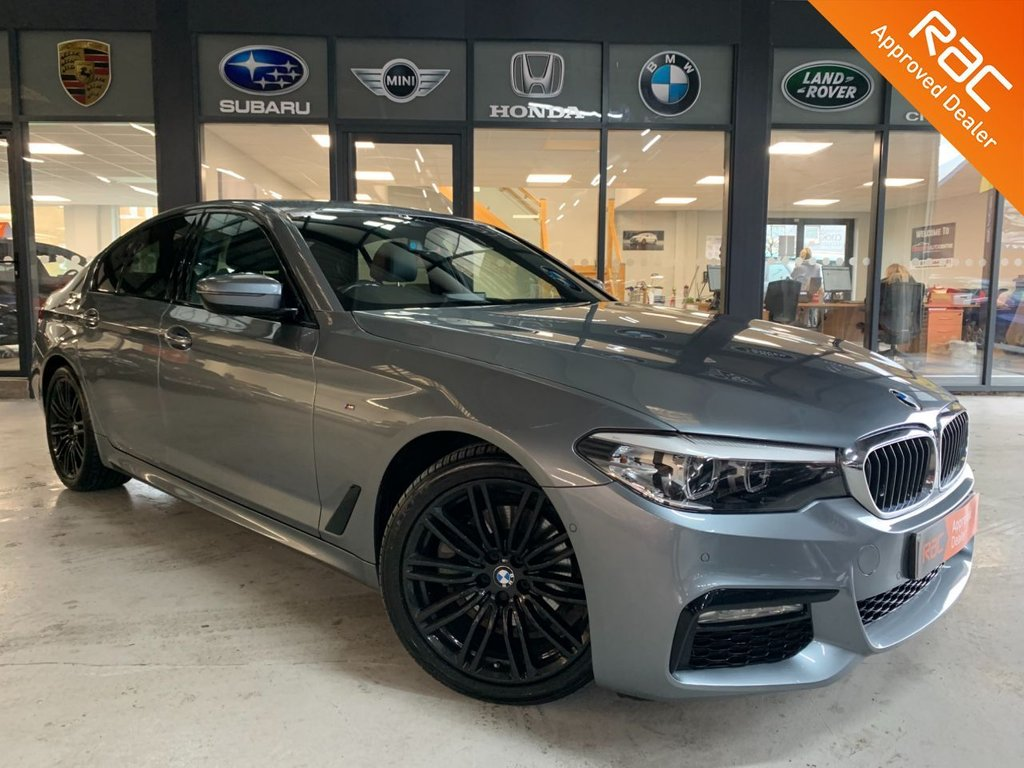 USED 2017 67 BMW 5 SERIES 2.0 520D XDRIVE M SPORT 4d 188 BHP Complementary 12 Months RAC Warranty and 12 Months RAC Breakdown Cover Also Receive a Full MOT With All Advisory Work Completed, Fresh Engine Service and RAC Multipoint Check Before Collection/Delivery