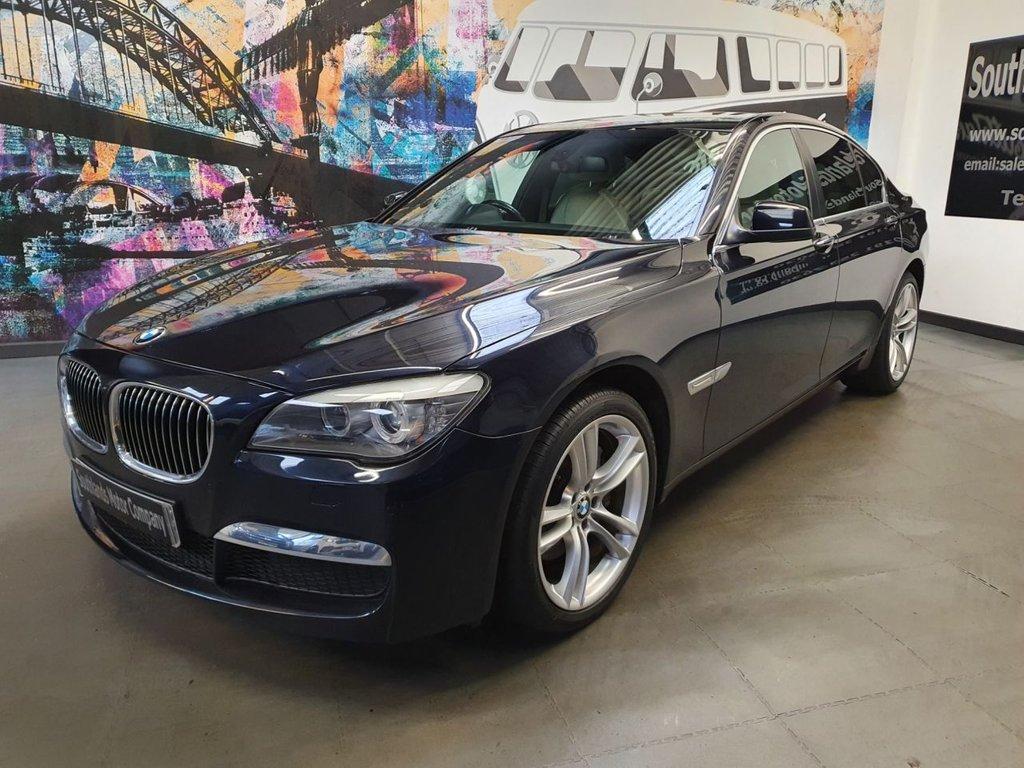 USED 2012 61 BMW 7 SERIES 3.0 730D M SPORT LUXURY EDITION 4d 242 BHP