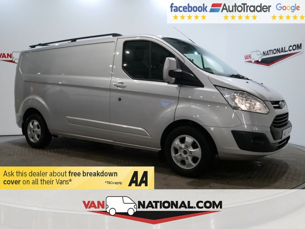 USED 2017 67 FORD TRANSIT CUSTOM 2.0 290 LIMITED P/V 130 BHP LWB LIMITED L2 *EURO 6*AIR CON* * EURO 6 * LWB * AIR CON * ZERO DEPOSIT FINANCE AVAILABLE *