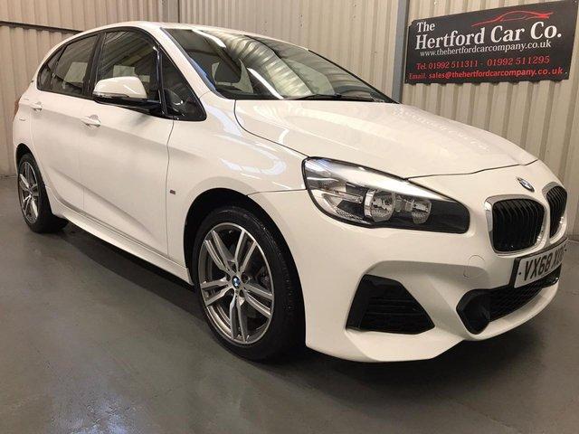 2018 68 BMW 2 SERIES 1.5 225XE M SPORT ACTIVE TOURER 5d 134 BHP