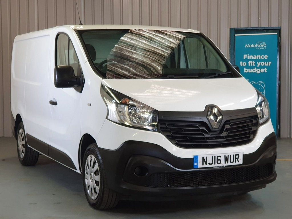 USED 2016 16 RENAULT TRAFIC 1.6 SL29 ENERGY DCI 120 BUSINESS