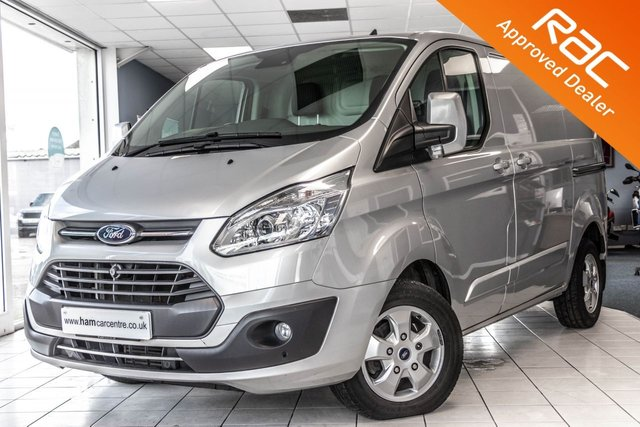 2017 67 FORD TRANSIT CUSTOM 2.0 270 LIMITED LR P/V 129 BHP