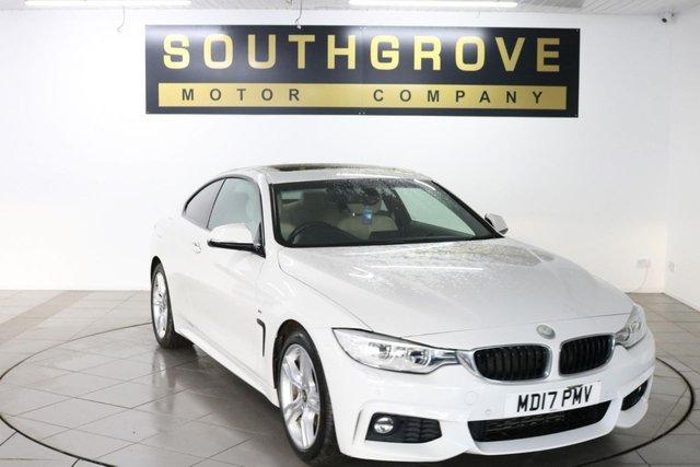 USED 2017 17 BMW 4 SERIES 2.0 418D M SPORT 2d 148 BHP