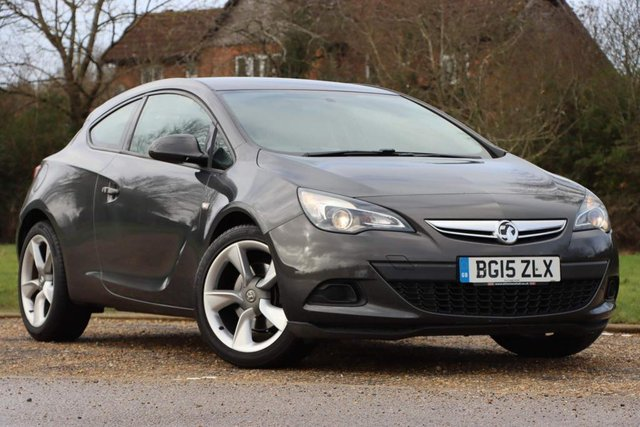 USED 2015 15 VAUXHALL ASTRA GTC 1.4i Turbo Sport (s/s) 3dr FSH+2 Former Keepers