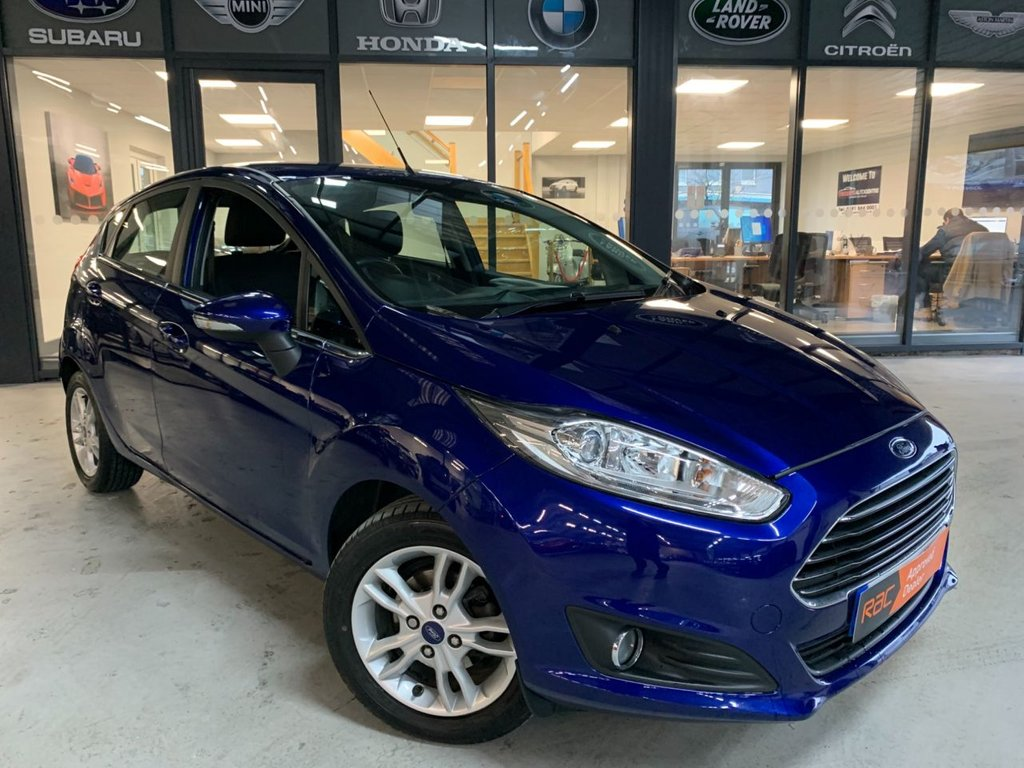 USED 2016 16 FORD FIESTA 1.6 ZETEC 5d 104 BHP Complementary 12 Months RAC Warranty and 12 Months RAC Breakdown Cover Also Receive a Full MOT With All Advisory Work Completed, Fresh Engine Service and RAC Multipoint Check Before Collection/Delivery