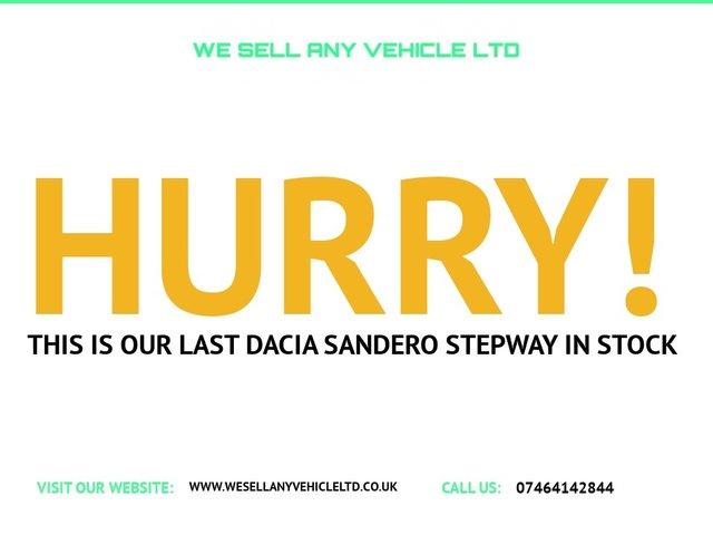 USED 2015 65 DACIA SANDERO STEPWAY 1.5 AMBIANCE DCI 5d 90 BHP £0 TAX FSH CAMBELT DONE