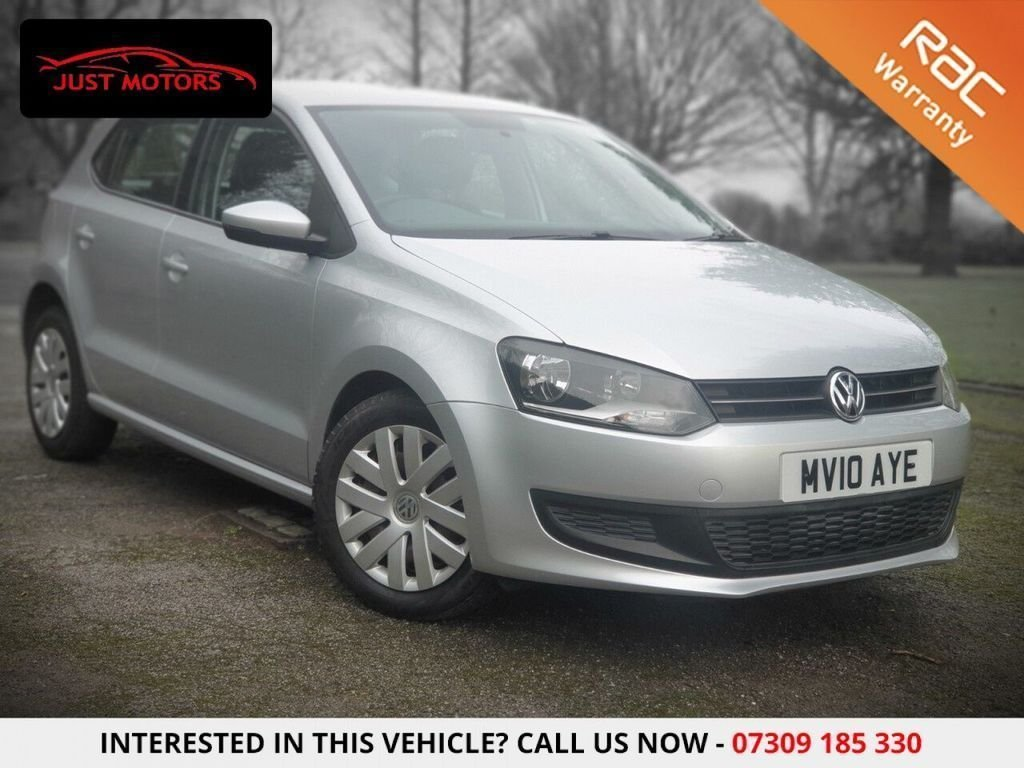 USED 2010 10 VOLKSWAGEN POLO 1.4 TSI ACT BlueGT DSG 5dr DSG 7 SPEED|RUST FREE|AUX