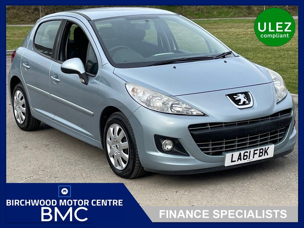USED 2011 61 PEUGEOT 207 1.6 ACTIVE 5d 120 BHP