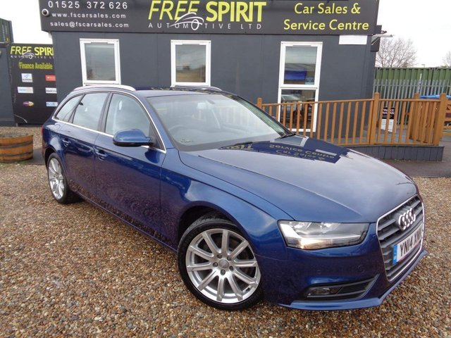 USED 2014 14 AUDI A4 2.0 TDI SE Technik Avant Multitronic 5dr Nav, Leather, F&R Sensors