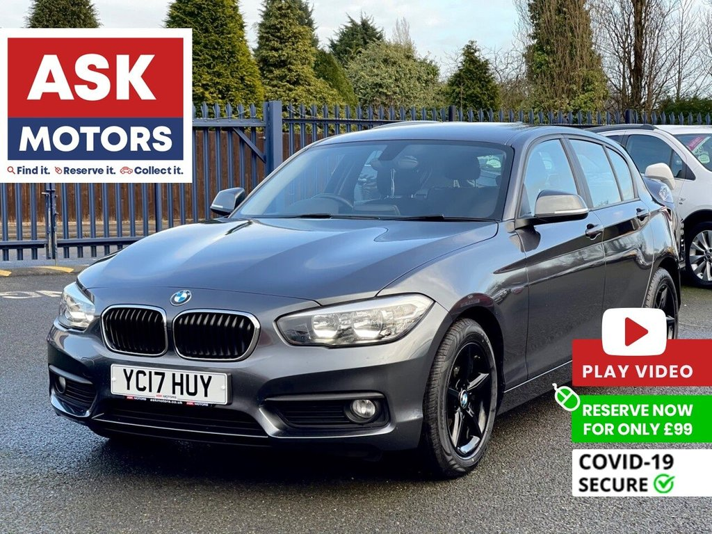 USED 2017 17 BMW 1 SERIES 1.5 116D ED PLUS 5d 114 BHP SATNAV EURO 6