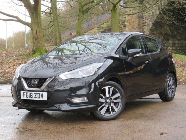 USED 2018 18 NISSAN MICRA 1.5 DCI ACENTA 5d 90 BHP
