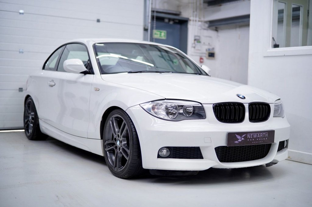 USED 2012 62 BMW 1 SERIES 2.0 120d M Sport 2dr Graphite Alloys | Shadowline