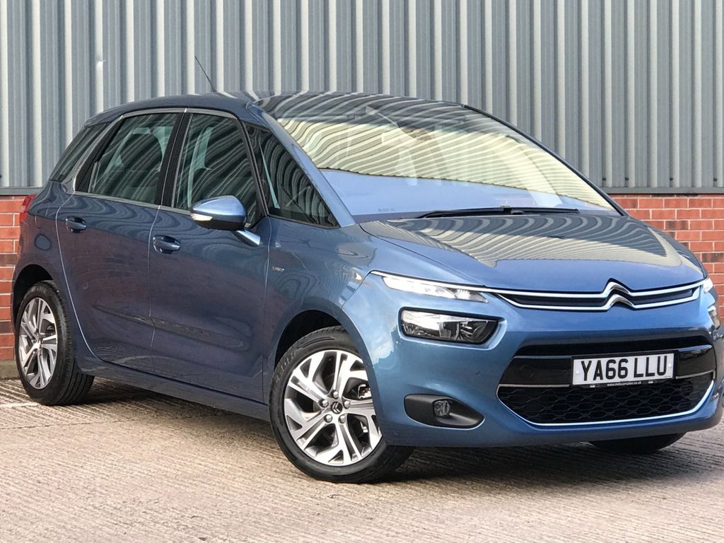 USED 2017 66 CITROEN C4 PICASSO 1.6 BLUEHDI EXCLUSIVE 5d 118 BHP EXCELLENT ONE OWNER FROM NEW EXAMPLE