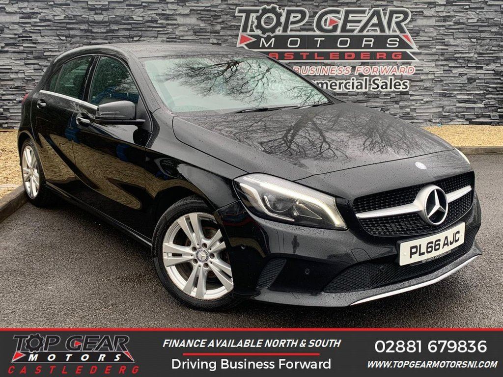 USED 2017 16 MERCEDES-BENZ A-CLASS A 180 D 1.5 110 BHP SPORT PREMIUM AUTO ** AUTOMATIC, REVERSING CAMERA, HEATED LEATHER, SAT NAV **