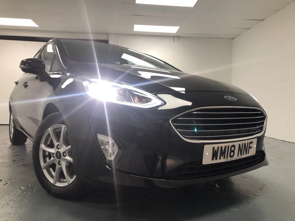 USED 2018 18 FORD FIESTA 1.0 ZETEC 5d 99 BHP £189 a month, T&C's apply.