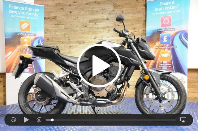 USED 2018 18 HONDA CB500 CB 500 FA-J 47 BHP - 1 owner bike