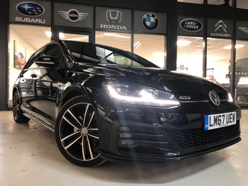 USED 2017 67 VOLKSWAGEN GOLF 2.0 GTD TDI DSG 5d 182 BHP Complementary 12 Months RAC Warranty and 12 Months RAC Breakdown Cover Also Receive a Full MOT With All Advisory Work Completed, Fresh Engine Service and RAC Multipoint Check Before Collection/Delivery