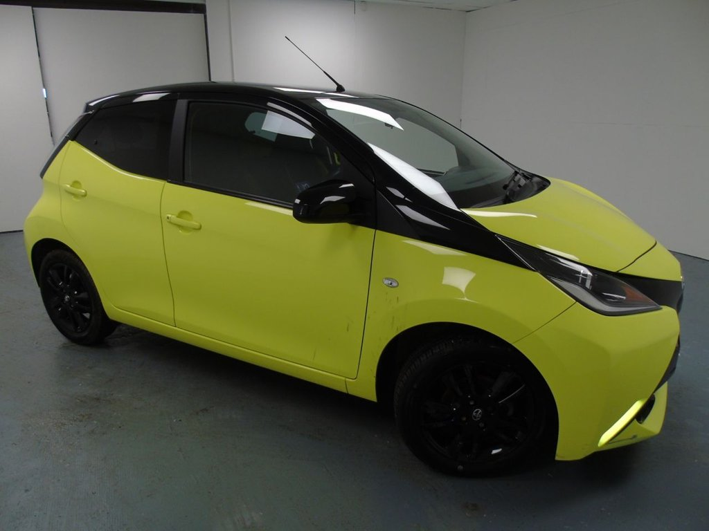 USED 2017 17 TOYOTA AYGO 1.0 VVT-I X-CITE 3 5d 69 BHP £135 a month, T&Cs apply.
