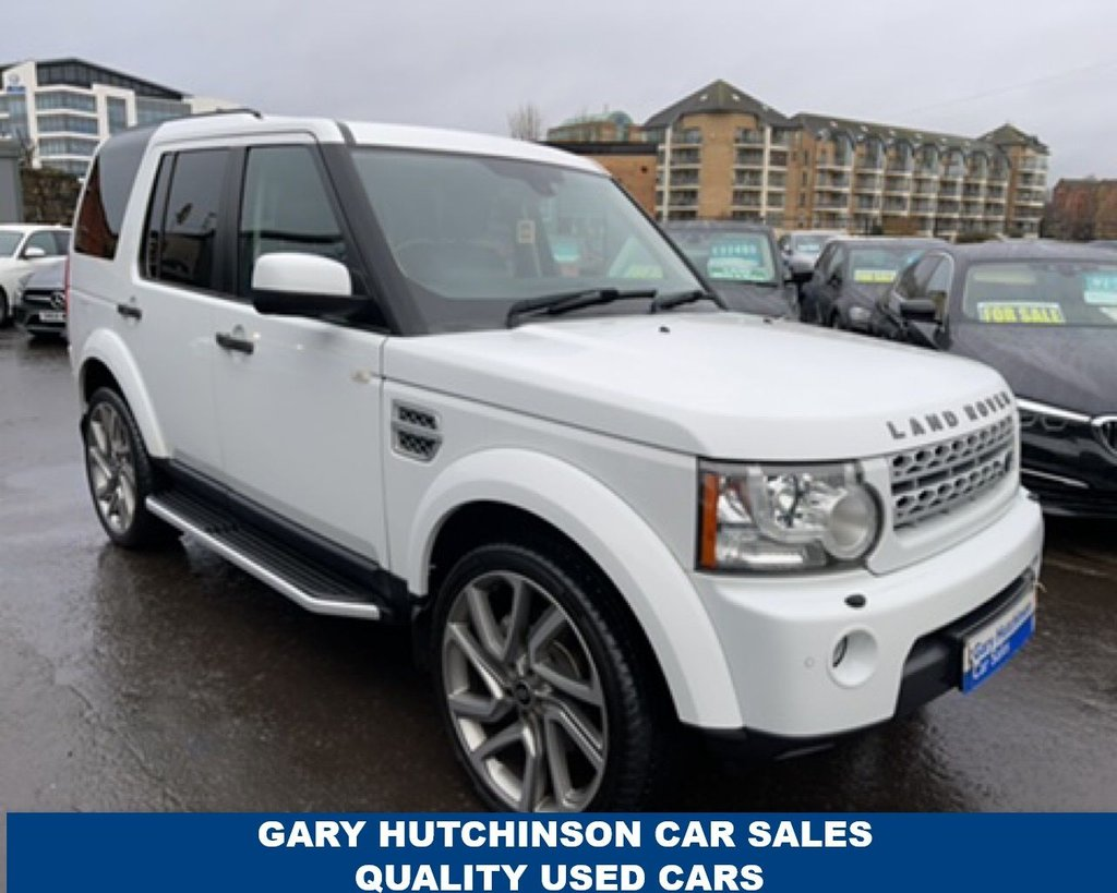 USED 2013 LAND ROVER DISCOVERY 3.0 4 SDV6 HSE 5d 255 BHP